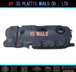 Extrusion blow mould