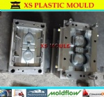 Plastic pot mould